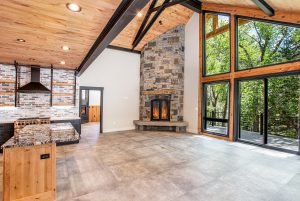 Real Estate Photography of a custom home build in Ouray, CO