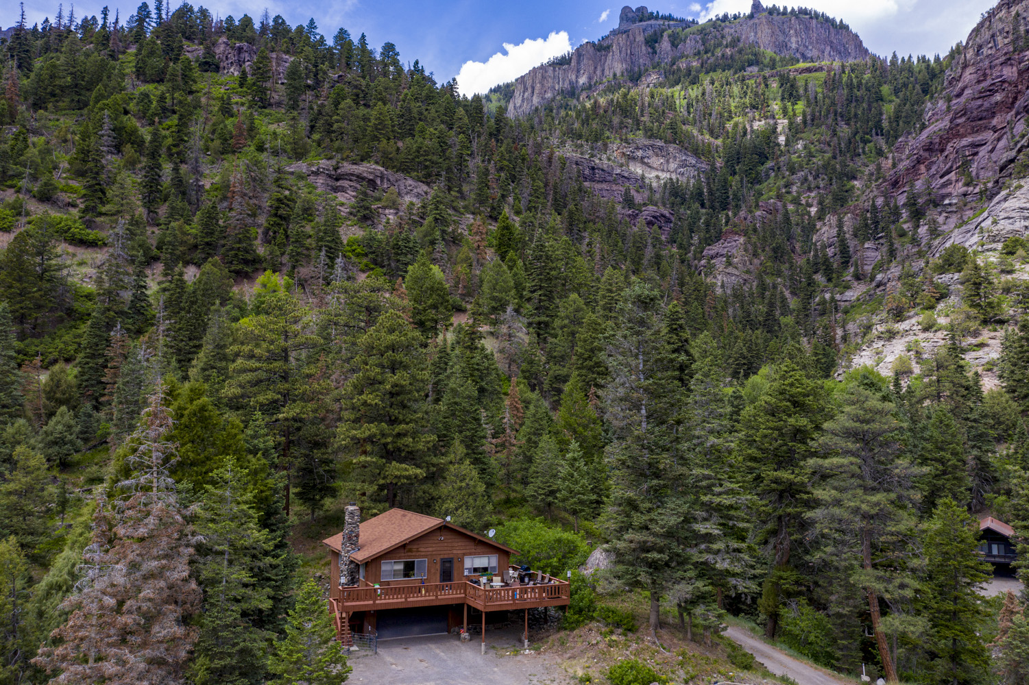 Drone Photography for Real Estate in Ouray CO