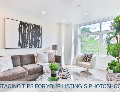 Staging Tips for Your Listing's Photoshoot